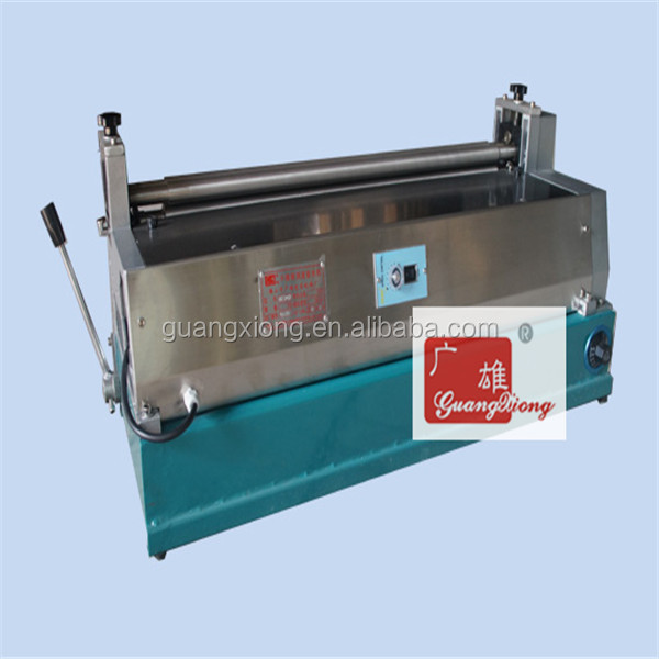 Desk hot gluing machine