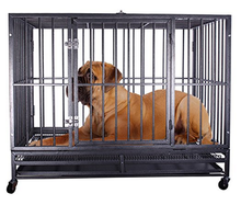 Stocked,Eco-friendly feature and folding fabric dog cages and crates large dogs application