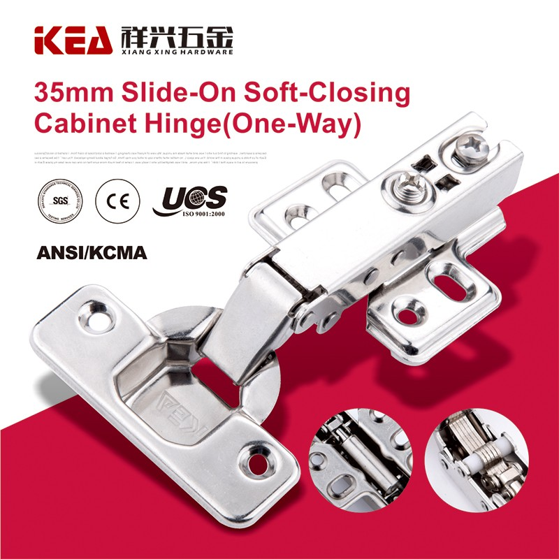 [K13] Slide-on soft-closing hinge One Way Hydraulic Cabinet Door Hinge