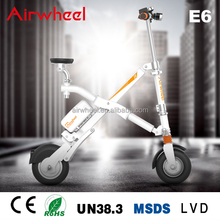 Airwheel E6 36V 300W lithium battery cheap easy riding folding mini electric scooter