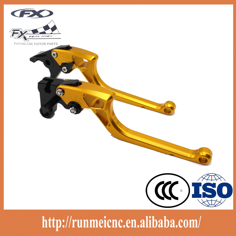 MQ002 racing bike hand parts new design CNC save power brake and clutch lever for old type honda