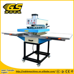 High quality pneumatic double stations heat press machine