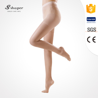 S-SHAPER Varicose Veins Stocking Medical Sexy Sheer Compression Pantyhose