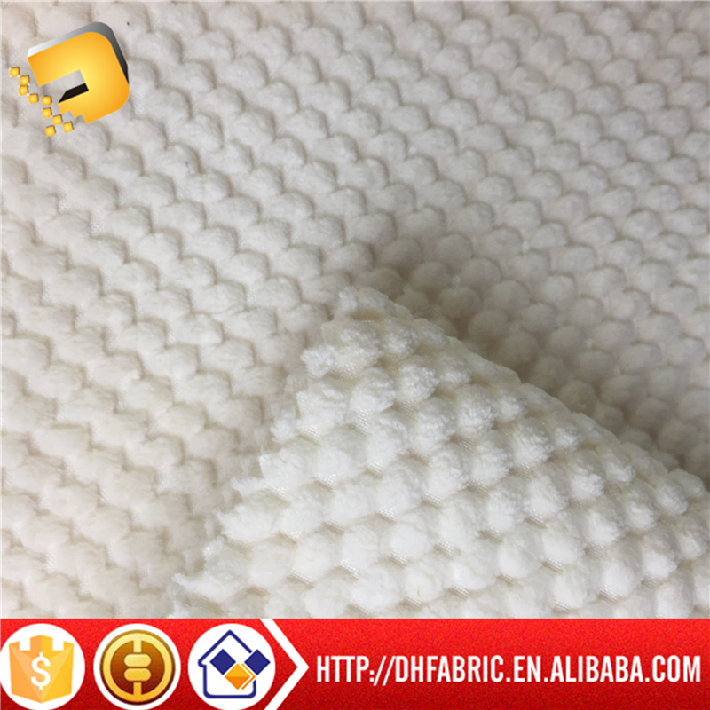 100% plyester woven jacquard fabric bonded fleece for furniture from factory