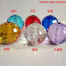 FACTORY DIRECTLY unique design big crystal ball with hole for wholesale