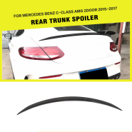 07-12 S-Class W221 Carbon Fiber Car Spoiler for Mercedes W221 S350 S400 S500 S550 S63 S65 AMG Sedan 4-Door