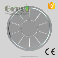 Wind Turbine Alternator, low rpm hydro wind turbine generator with low start torque high efficiency ,less volume and weight