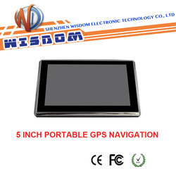 5 inch Car GPS Navigation for fiat grande punto auto gps navigation system with Bluetooth