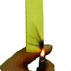 Aramid heat resistant Webbing for fire fighter 55MM*2MM