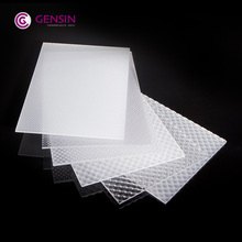 Alibaba best price translucent prismatic PC solid sheet