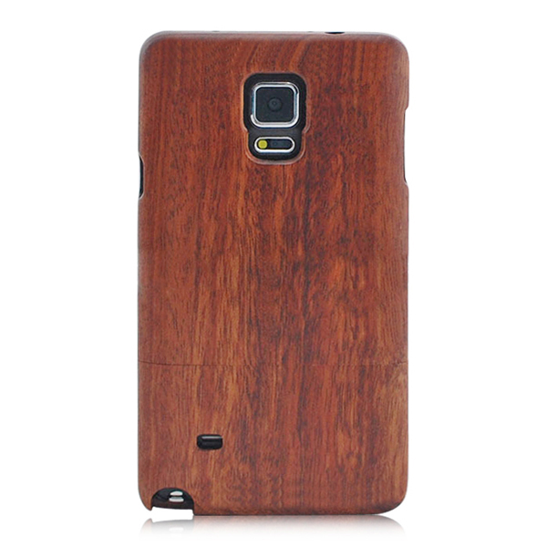 Real sapele wood protective case, high quality wooden back cover for samsung note 4