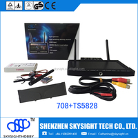 TS5828+RC708 skysight 5.8g 600mw 32ch fpv transmitter and 40ch wireless video transmitter receiver
