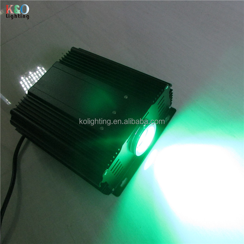 Home theater star sky ceiling 45W LED RGB optical fiber light generator with twinkle effect