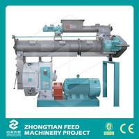 Factory Supply pelletizing machine / cow feed mill for animal farming