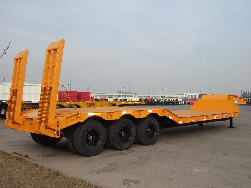 Concave Type Low bed Trailer