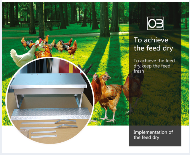 FRD-Plastic chicken coop feeder made in China treadle feeder massive 20 kilo chicken/poultry