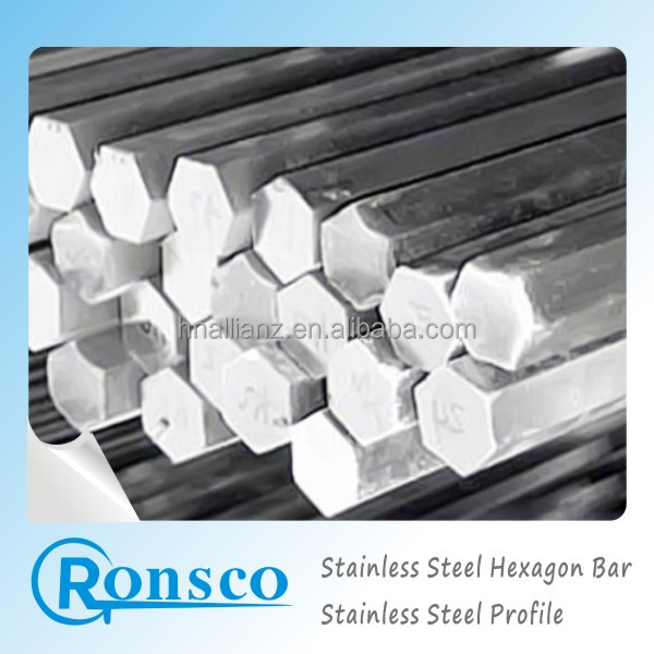 ASTM A582 304L pickled stainless steel hexagonal bar, China manufacture aisi 316 Stainless Steel Hexagon Bar