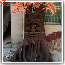 Best Design from China supplies artificial tree trunk tree face tree stumps