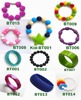 shenzhen silicone promotional gifts hand stamped bracelets magnetic fashion