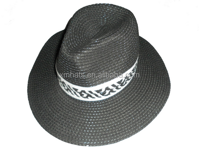 Cost price First Grade paper straw panama hat for man
