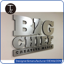 Casting Craftsman Customized stainless steel wall mounted 3d metal sign letter, acrylic letter, 3d logo sign