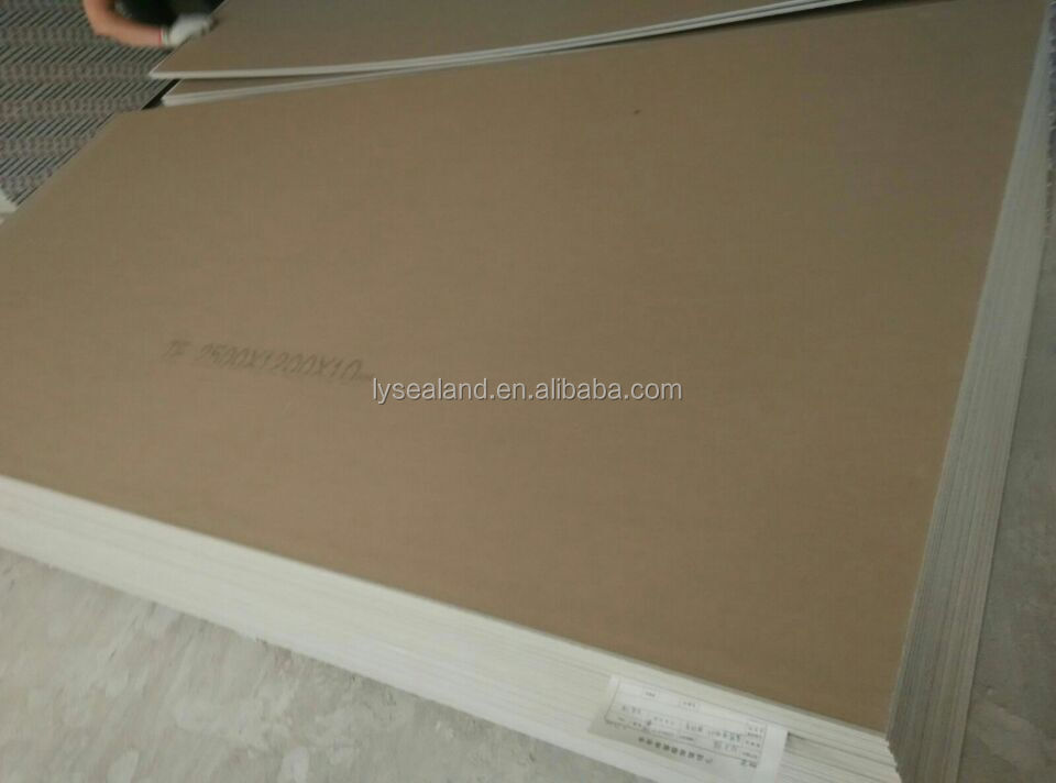 knauf gypsum board/wall partition/fireproof gypsum board