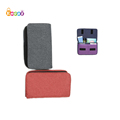 Encai Solid Carry-on Bag Phone Bank Cards Earphone Bag Fashion Organizer Flap Bag