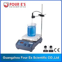 Good Heating Conduction Top Class Glass Ceramic Hot Plate with Magnetic Stirrer Bar