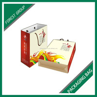 BEAUTIFUL COLOR PRINTED TEA PACKING GIFT BAGS WITH HIGH MATT LAMINATION