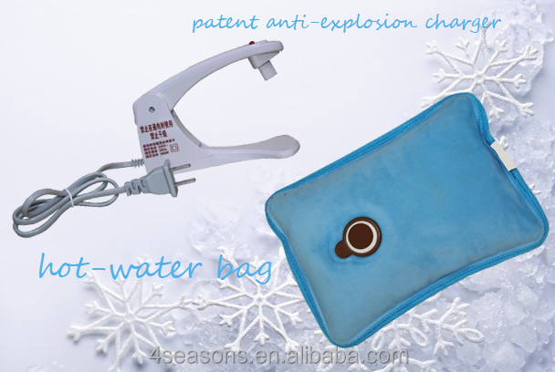 electric hot water bottle/ patent product/safe hot water bag