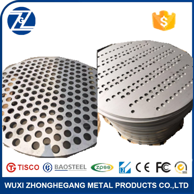 (best price) 304 316 rubber perforated stainless steel sheet