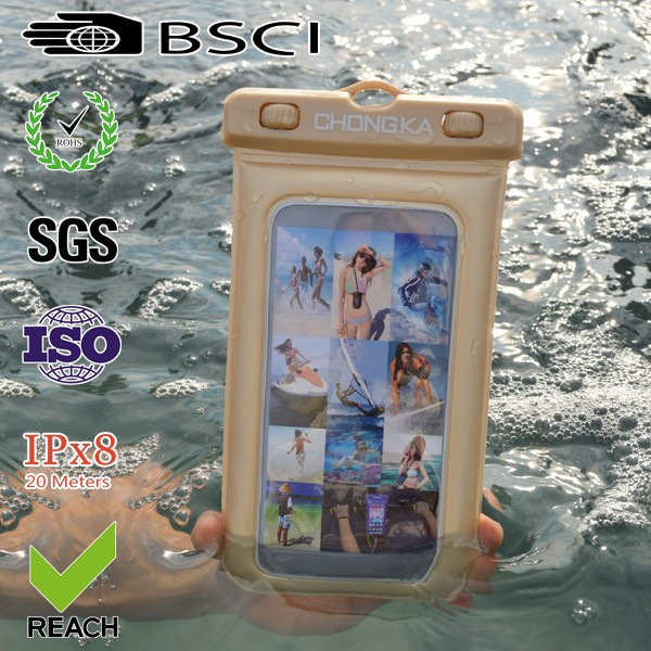 Hot sale plastic waterproof case for htc desire hd a9191
