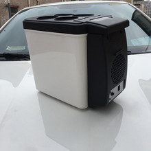 Factory Cheap Price DC 12V 6L Cooling And Heating Mini Car Fridge For Travel