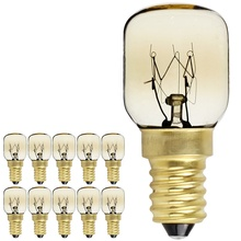 LightingDesigner 15W 25W SES E14 Screw Cap Pygmy Lamps 300 Degree Oven Rated Light Bulbs Night Bulb Salt Lamp Bulb