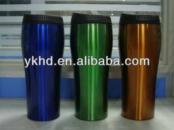 Antique custom-made flashing tumbler
