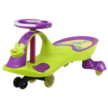 Cute frog baby toys car battery twist car for kids