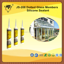 RTV 100% Acetoxy Glass House Silicone Sealant