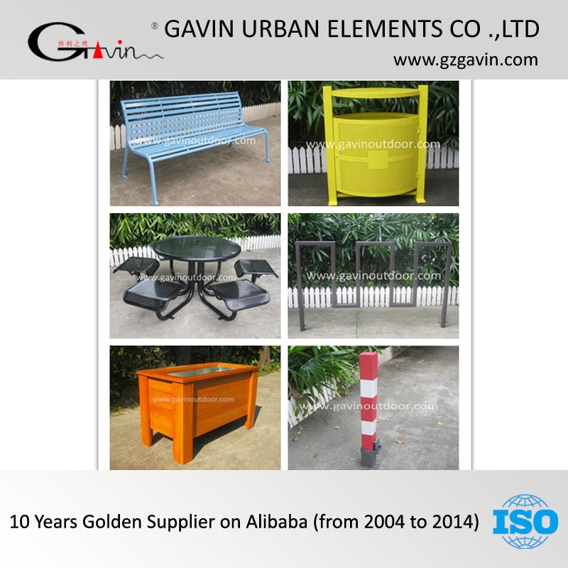17 years manufacturing experience metal park furniture wooden park furniture