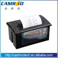 Cashino 2 inch mini usb panel thermal printer panel mount thermal printer with RS232/TTL/USB