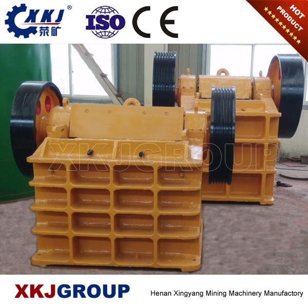 Alibaba construction equipment small used stone jaw crusher for sale
