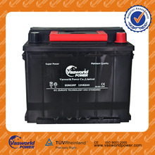 12v rechargeable battery DIN Standard 12V MF 56230 auto battery 62AH car battery spain with low price