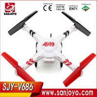 WLtoy Plane V686 FPV Headless Mode RC 4CH Plane with HD Camera SJY-WL-V686G