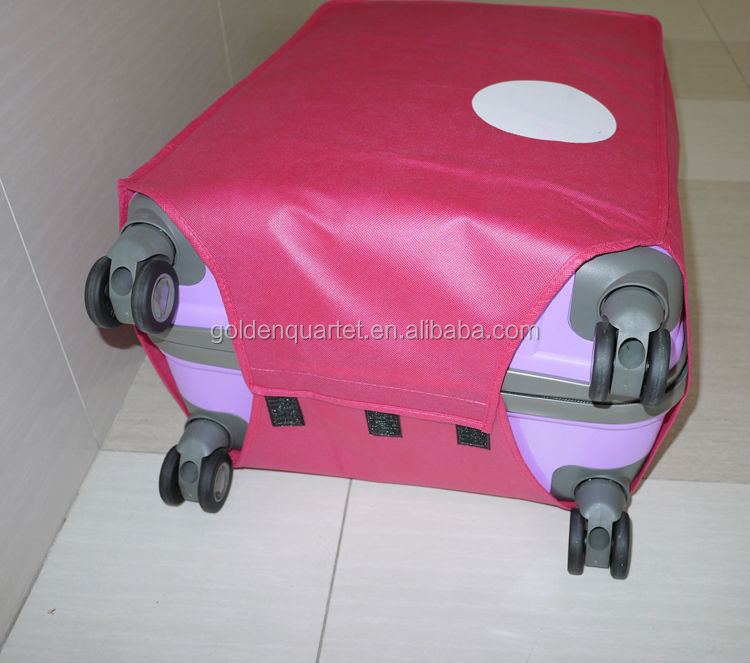 Promotion trolley bag cover/trolley case protection cover (SA8000, BSCI, WCA audit factory)