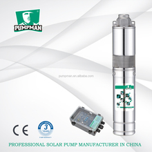 DC 316 stainless steel deep well submersible water pump