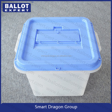 40L Colorful Plastic Storage Container Box with Security Seal