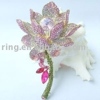Buy pink flower brooch Fashion Jewelry Alloy in China on Alibaba.com