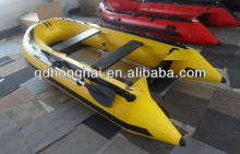 CE certification HH-360 pvc rigid inflatable boat/fishing yacht