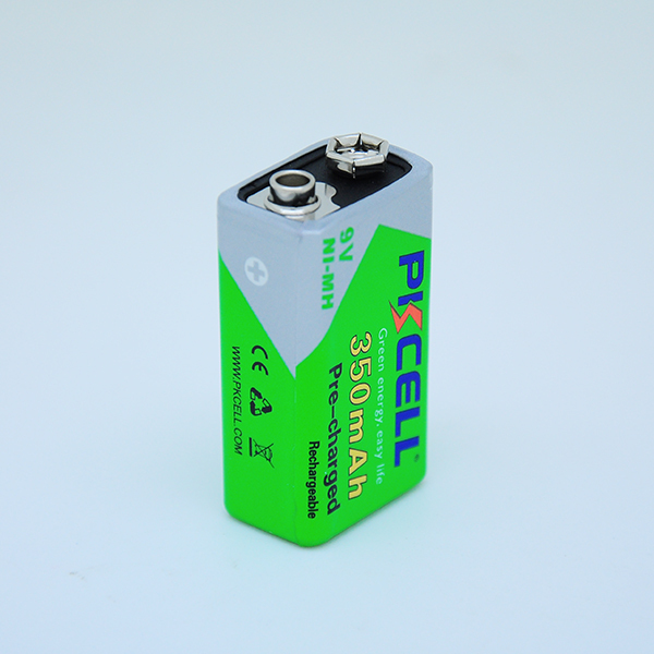 PKCELL or OEM NI-MH 9v Low self discharge rechargeable battery for export on alibaba