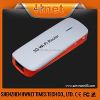 Mini Portable 2in1 150Mbps 3g 4g wireless router with sim card slot
