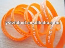 2012 Lucky & Beautiful Big Band Silicone Bracelets for Gifts